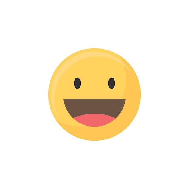 Emoji felice Vettore gratuito