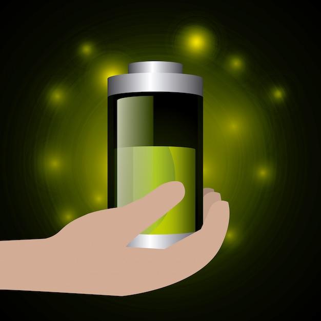 Energia verde ed ecologia Vettore gratuito