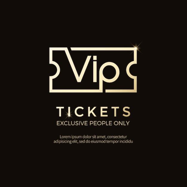 Etichette e oggetti vip di lusso Vettore Premium
