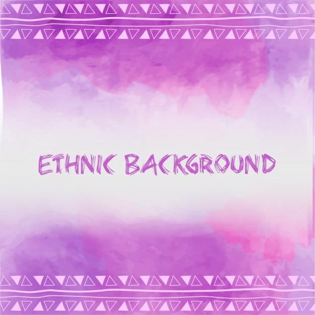 Etnica viola Vettore gratuito