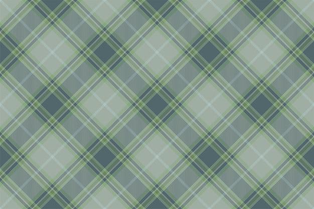 Fantasia scozzese scozzese senza cuciture Vettore Premium