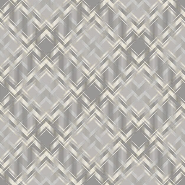 Fantasia scozzese scozzese senza cuciture. Vettore Premium