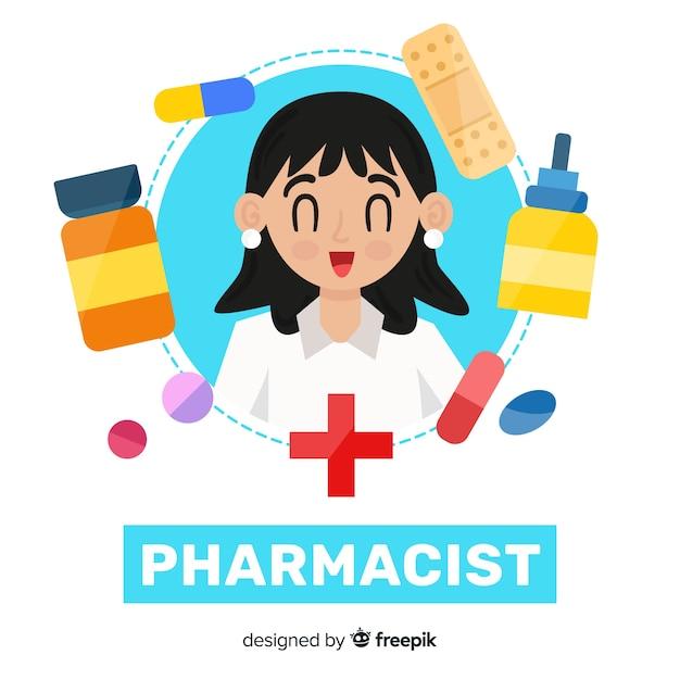 Farmacista Vettore gratuito