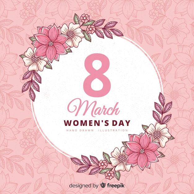 Felice giorno delle donne Vettore gratuito
