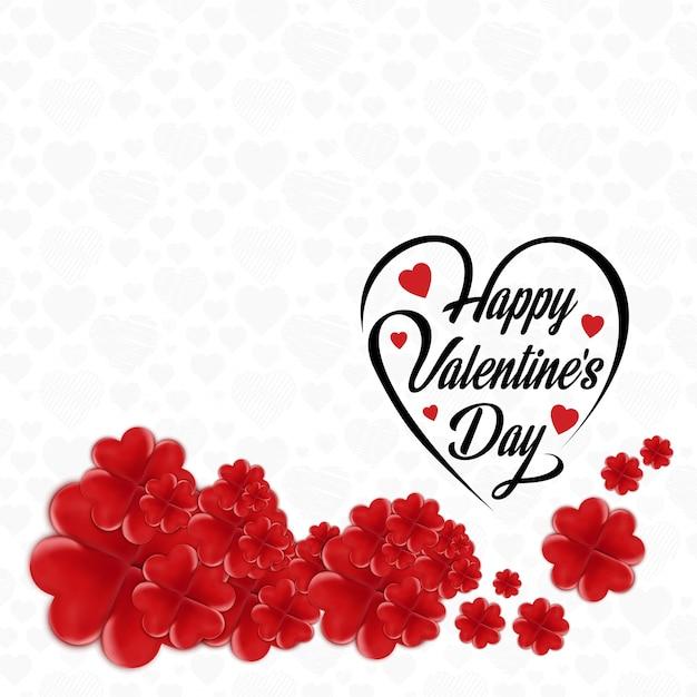 Felice giorno di san valentino cornice floreale - Animale san valentino clipart ...