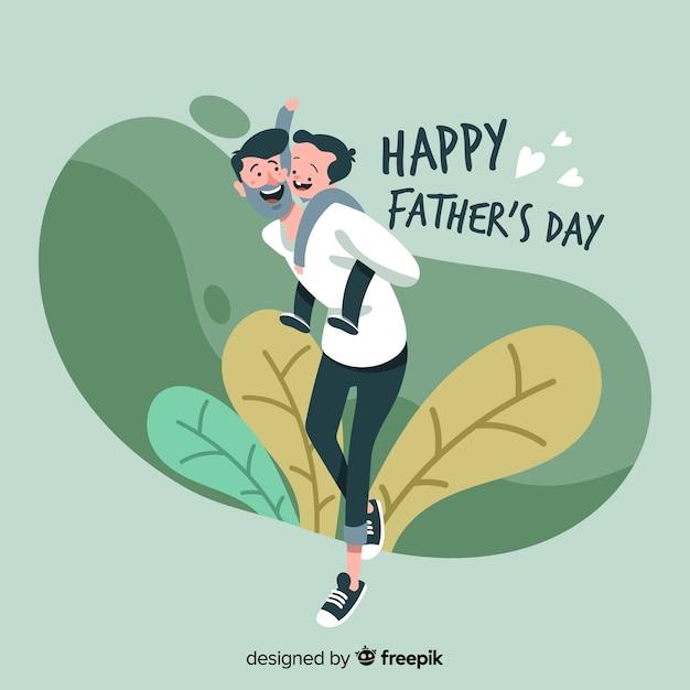 Festa del papà Vettore gratuito