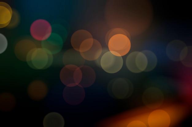 Festive luci sfocate Vettore gratuito