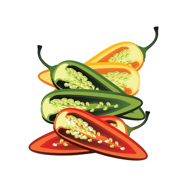 Peperoncino foto e vettori gratis for Cucinare jalapeno