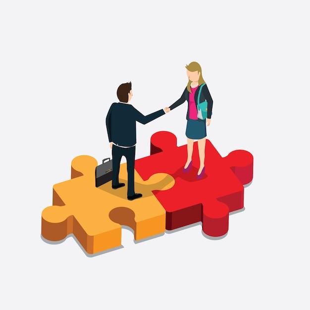 Finanza aziendale Vettore Premium