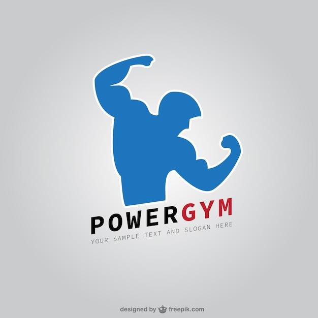 Fitness club logo Vettore gratuito