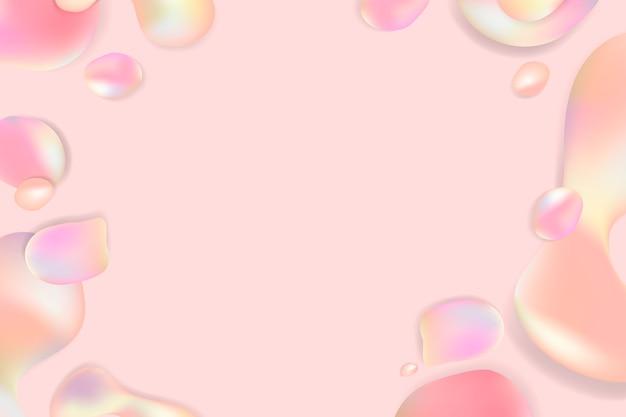 Fluido sfondo pastello Vettore gratuito