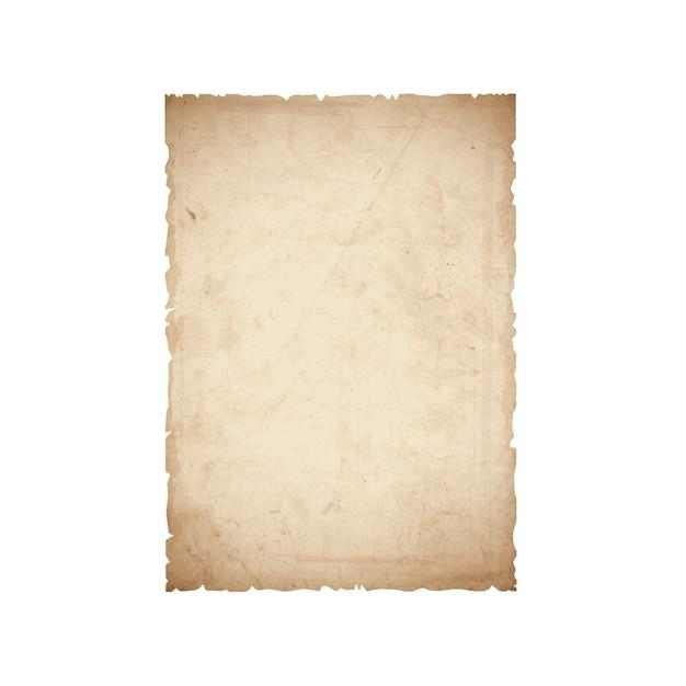 Foglio di carta vecchia Vettore Premium