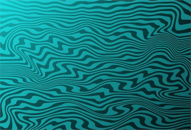 Fondo astratto del modello di onda diagonale di zigzag Vettore gratuito