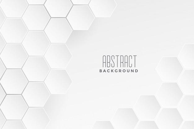 Fondo bianco di concetto medico geometrico Vettore gratuito