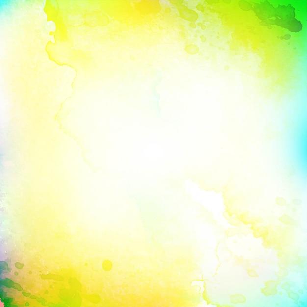 Fondo decorativo luminoso dell'acquerello astratto Vettore gratuito