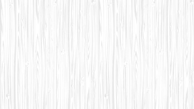 Fondo di legno bianco della superficie morbida, struttura di legno della plancia Vettore Premium