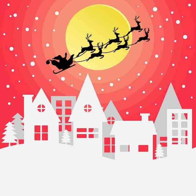 Buon Natale Arte.Vettore Premium Fondo Di Stile Di Arte Di Carta Di Buon Natale