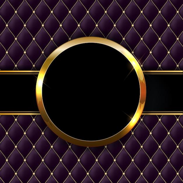 Fondo lucido scintillante dorato dell'estratto della struttura. può essere utilizzato per inviti, cartoline e buoni Vettore Premium