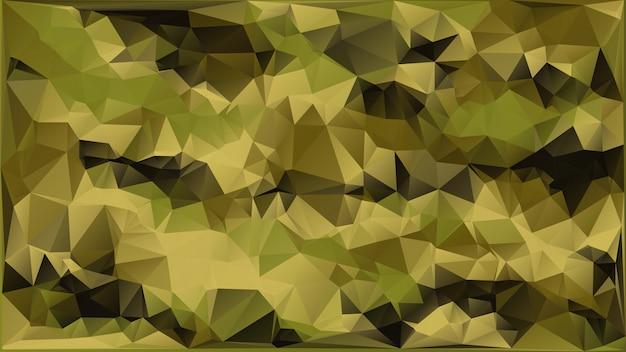 Fondo militare del cammuffamento di vettore astratto fatto delle forme geometriche dei triangoli stile poligonale. Vettore Premium