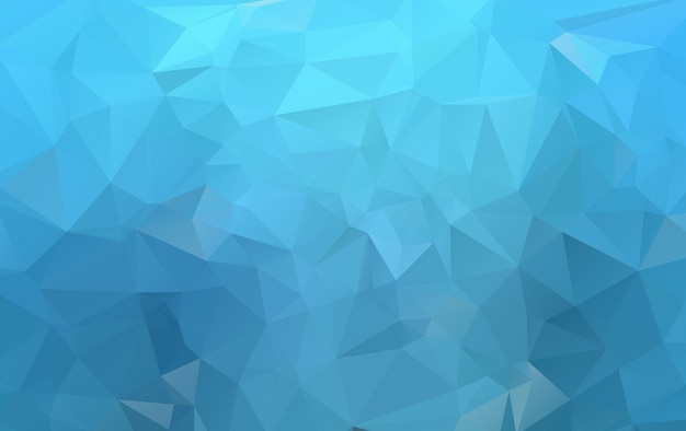 Fondo poligonale di vettore blu scuro. illustrazione colorata nuovissima in stile sfocato con sfumatura. stile nuovo di zecca per il tuo business design. Vettore Premium