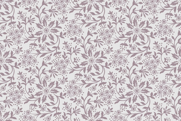 Fondo senza cuciture del fiore. texture elegante per sfondi. Vettore gratuito