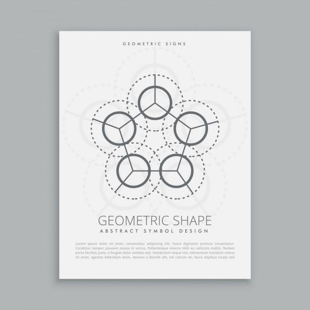 Forma geometrica spirituale šared Vettore gratuito