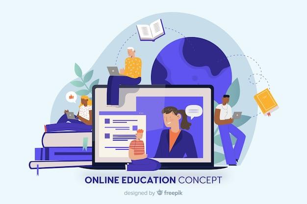Formazione online Vettore gratuito