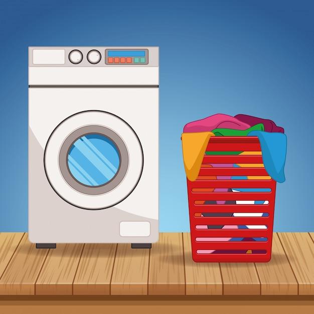 Forniture per kit di pulizia e pulizia Vettore Premium