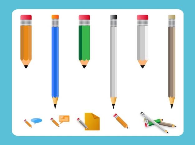 Forniture per ufficio vettore pacco matita scaricare for Forniture per ufficio