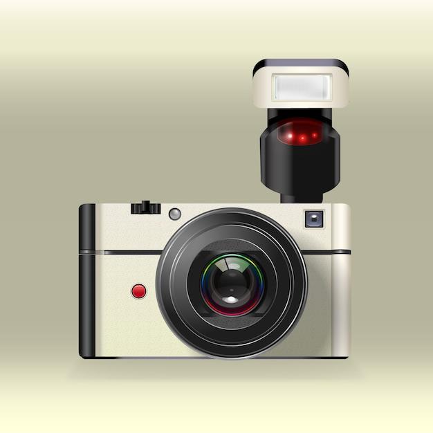 Fotocamera vettore istantanea Vettore gratuito