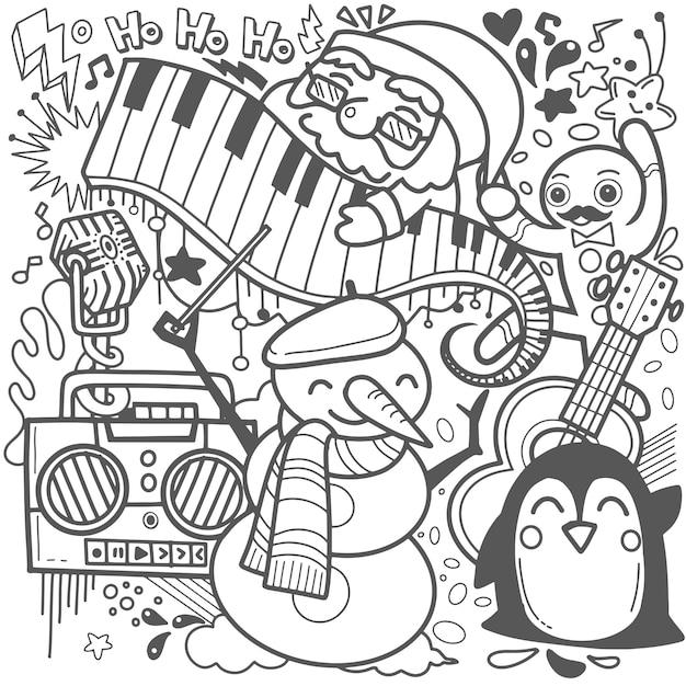 Immagini Natale Umoristiche.Fumetto Umoristico Di Celebrazione Della Festa Di Natale Scaricare