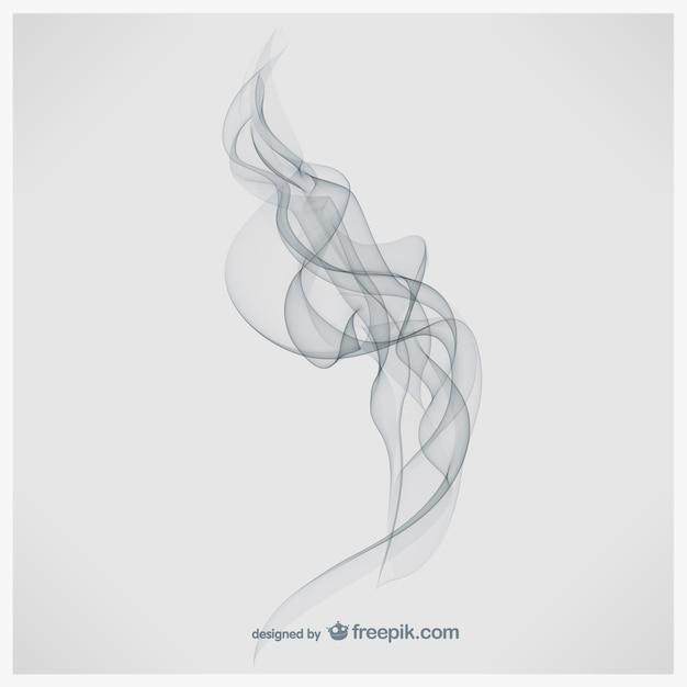 Fumo illustrazione arte Vettore gratuito