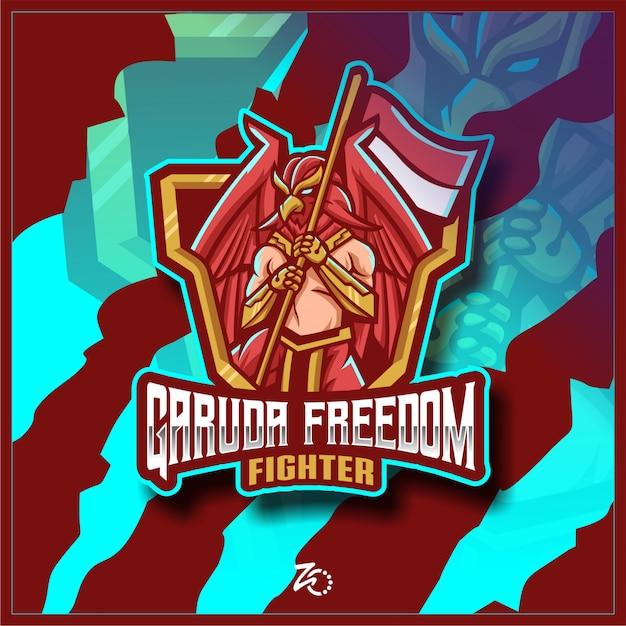 Garuda phoenix esportazioni di gioco Vettore Premium
