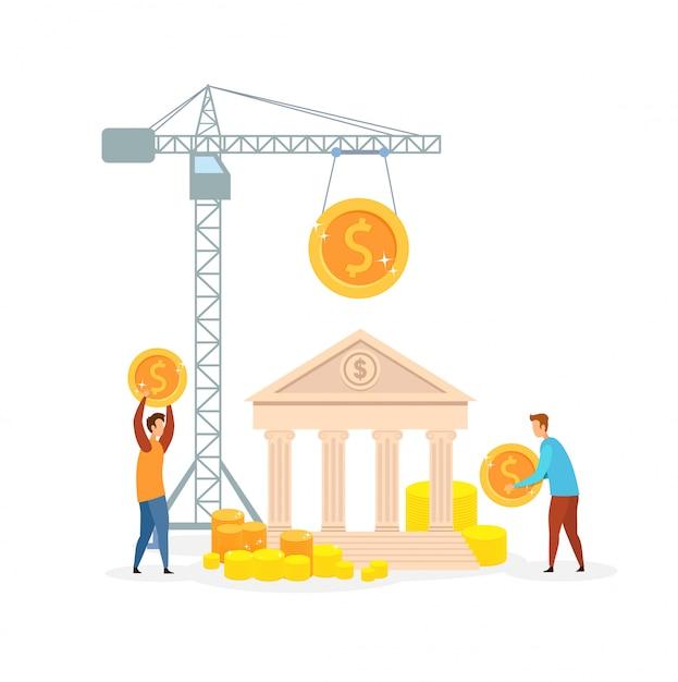 Gestione del denaro Vettore Premium