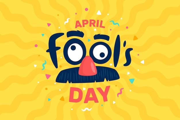Giornata dei pesci d'aprile Vettore gratuito