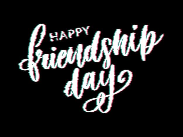 Giornata dell'amicizia Vettore Premium