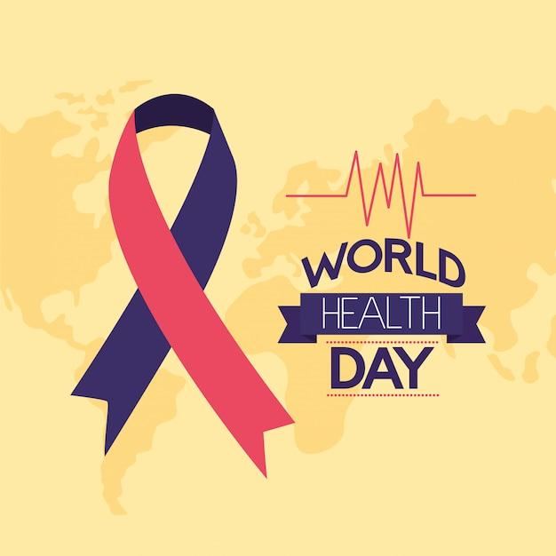 Giornata mondiale della salute Vettore gratuito