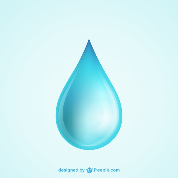 Goccia d'acqua Vettore gratuito