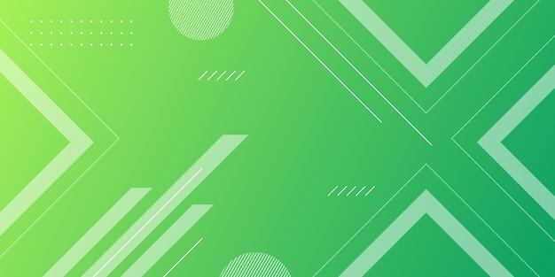 Gradiente di sfondo forma geometrica Vettore Premium