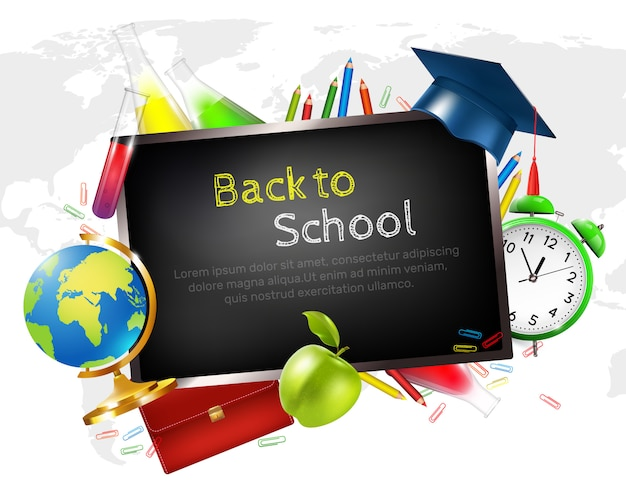 Graduazione scolastica Vettore gratuito