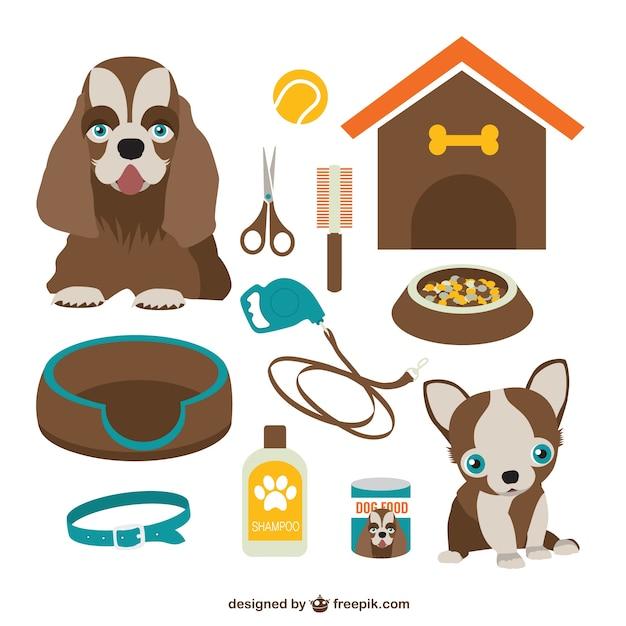 Grafica vettoriale dog free download Vettore gratuito