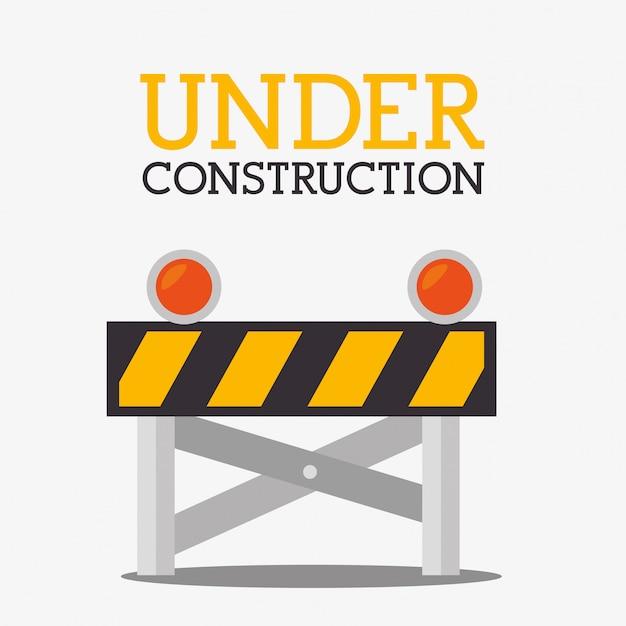 Grafico degli strumenti di riparazione della costruzione Vettore gratuito