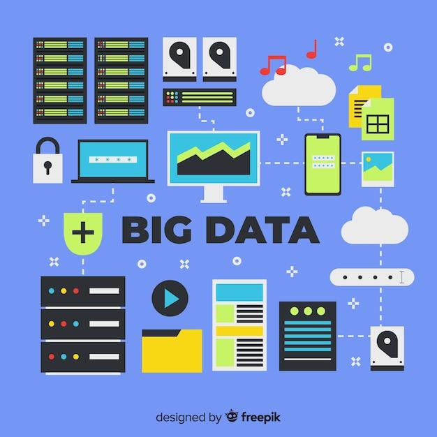 Grandi dati Vettore gratuito