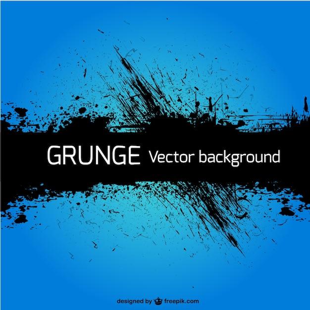 Grunge blu vettore sfondo Vettore gratuito