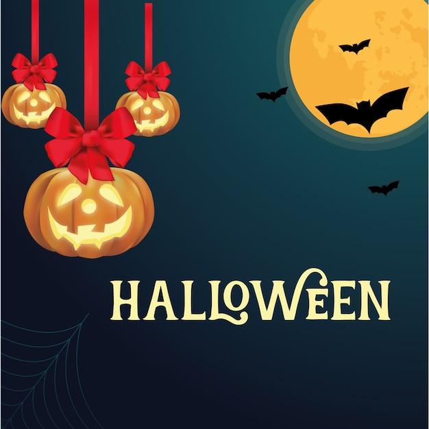 Halloween Vettore Premium