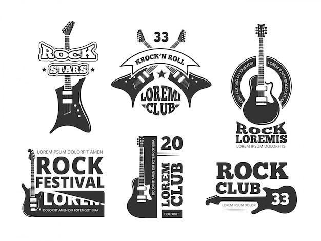 Heavy rock vintage Vettore Premium