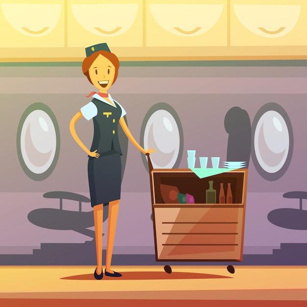 Hostess Vettore gratuito