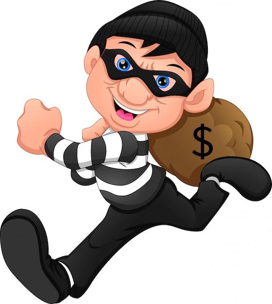 I ladri sono scappati con i soldi Vettore Premium