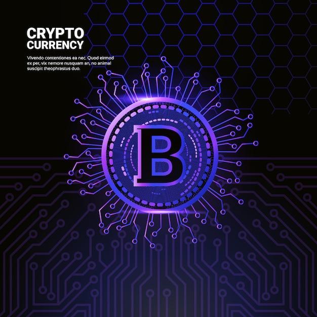 Icona bitcoin Vettore Premium