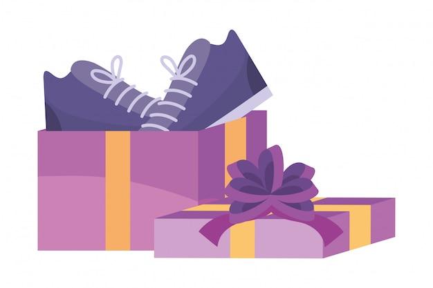 Icona dello shopping illustrazione Vettore Premium